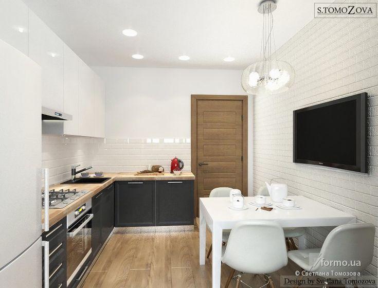 Кухня с зоной отдыха, Светлана Томозова, Кухня, Дизайн интерьеров Formo.ua