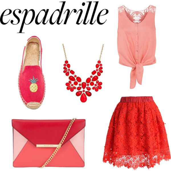 Espradrille by ve-ethnic-channel on Polyvore featuring Monsoon, Chicwish, Soludos, MICHAEL Michael Kors, Style & Co. and espradrille
