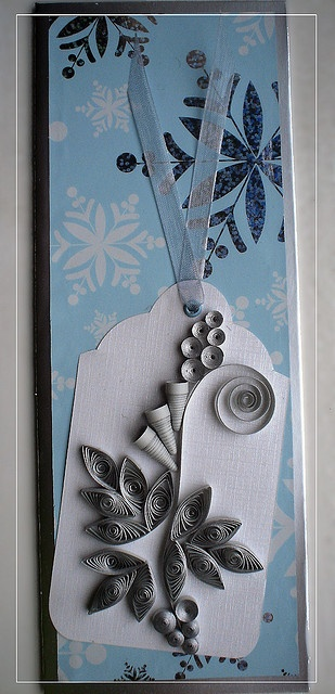 winter greetings 4: Quilling Cards, Cards Quilling, Blue Bookmarks, Quilling Greeting, Greeting Cards, Quilling Cartõ, Quilling Art, Paper Quilling, Photo