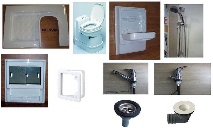 Caravan/Motorhome Magnum Shower Room Kit A (Left Hand, Electric Toilet) in Vehicle Parts & Accessories, Motorhome Parts & Accessories, Caravan Parts | eBay