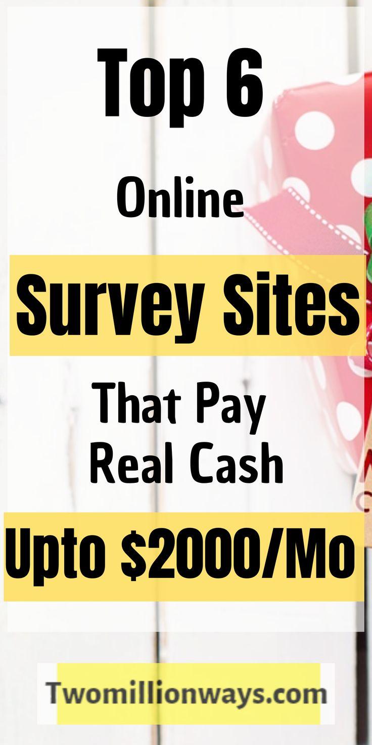 6 Best Paid Survey Sites That Pay Cash Online – Business Ideas for Women