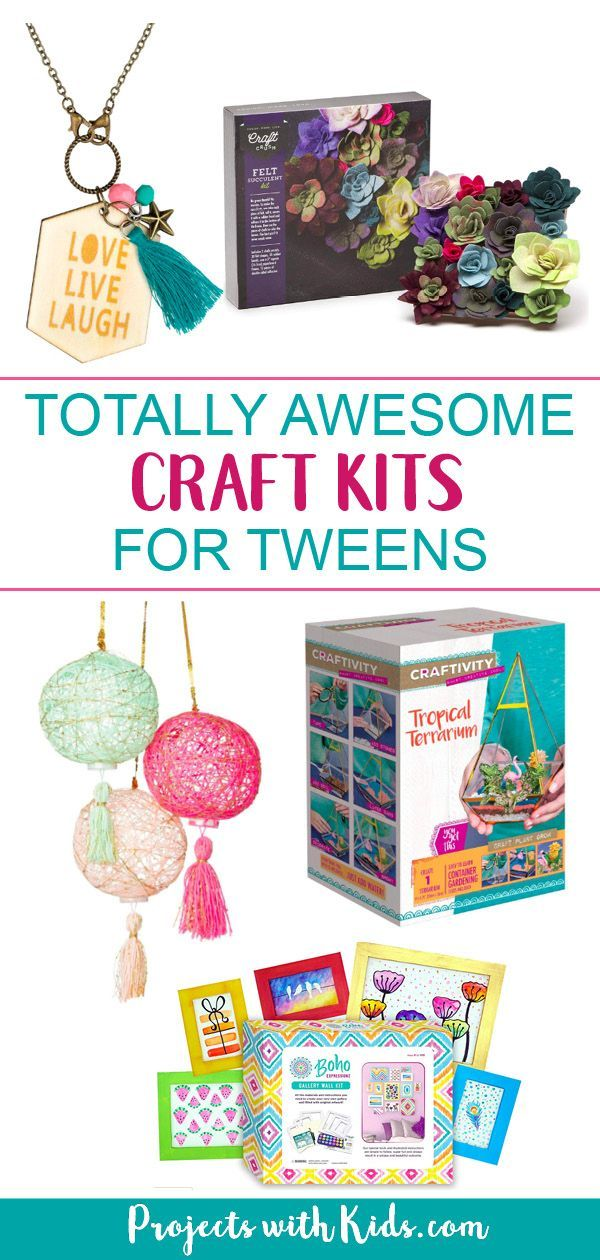 Totally Awesome Craft Kits For Tweens Diy Projects Crafts