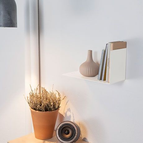 Left-Sided Shelf - White - alt_image_two