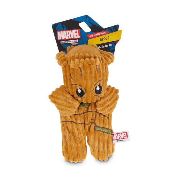 Marvel guardians of the galaxy groot flattie dog toy
