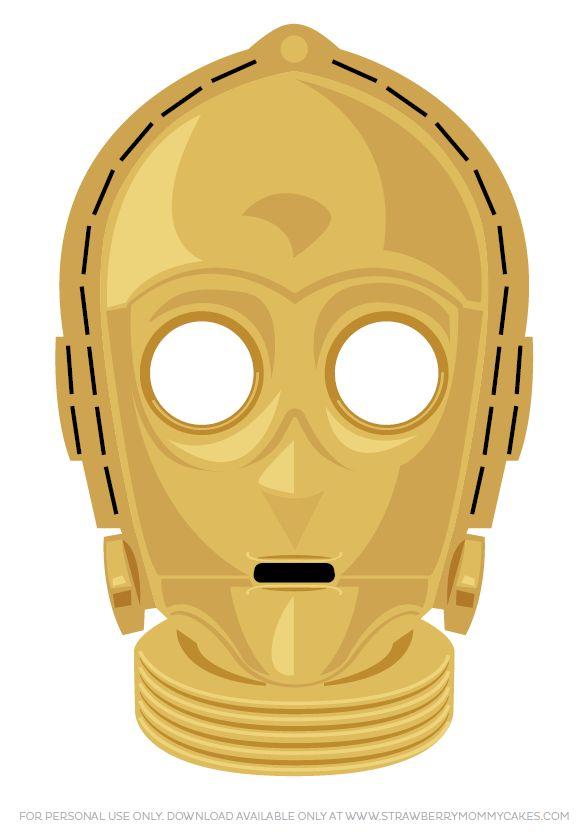 Current image in star wars printable masks