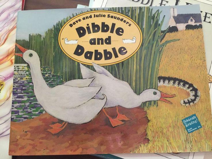 34 mejores imgenes de teacher oversized big books en pinterest teacher big book dibble dabble oversized 1990 learn to read two white ducks fandeluxe Images