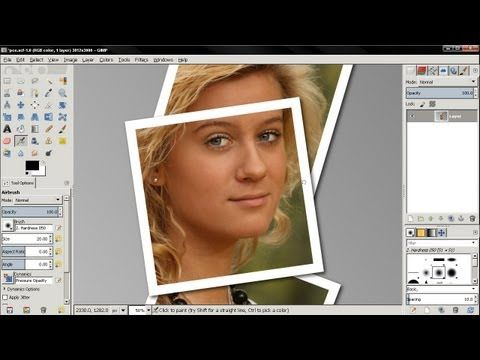 how to open photos in gimp on windows