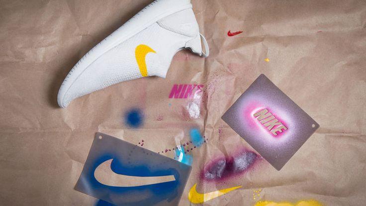 Nike está ofreciendo a sus fans más creatividad con el Flyknit Gakou - un kit de plantillas de goma que permite a los usuarios personalizar sus zapatillas como les plazca.