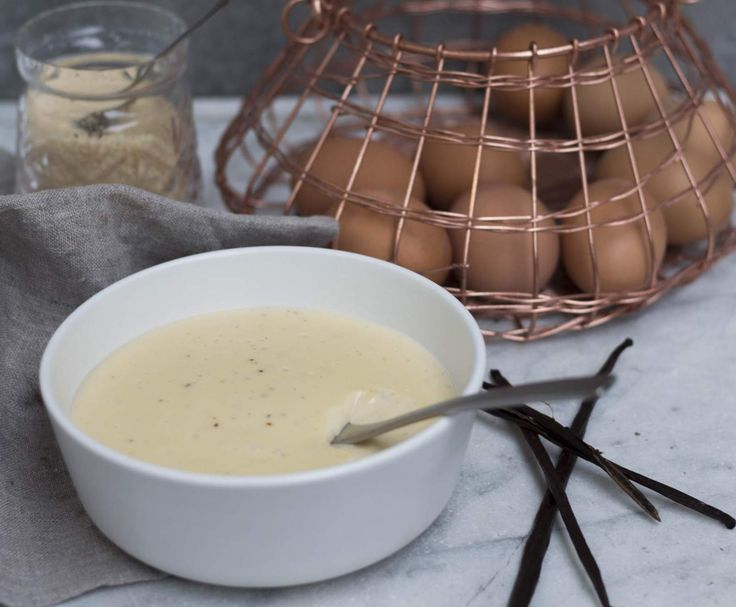 Recipe Vanilla Bean Custard- Arwen's version by We Love Thermomixing - Recipe of category Desserts & sweets