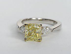 Love the yellow diamond! #pintowin #bluenile