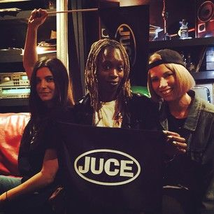 This is JUCE, a retro-glam girl group from London that's updating the sounds of the '90s in the best possible way.   JUCE Are The '90s-Loving Girl Group To Thaw Your Cold-Weather Blues