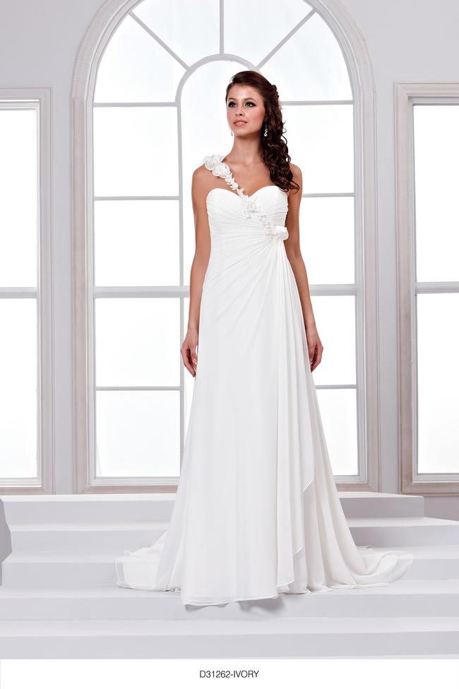 Glide down the aisle in the latest D'Zage bridal collection