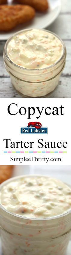 How often do you eat seafood? We love it and have whipped up a Copycat Red Lobster Tartar Sauce recipe for you! If you love making your own condiments you will love this!