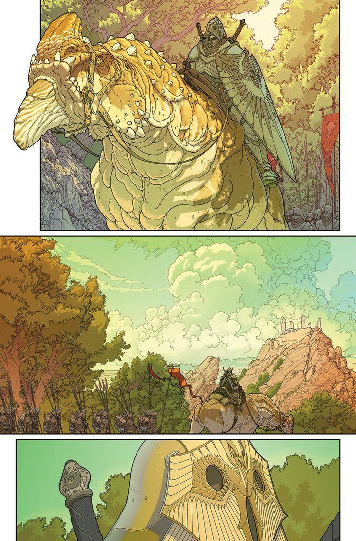 Nonplayer Issue 1 Page 2 by NateSonOfSimp on DeviantArt