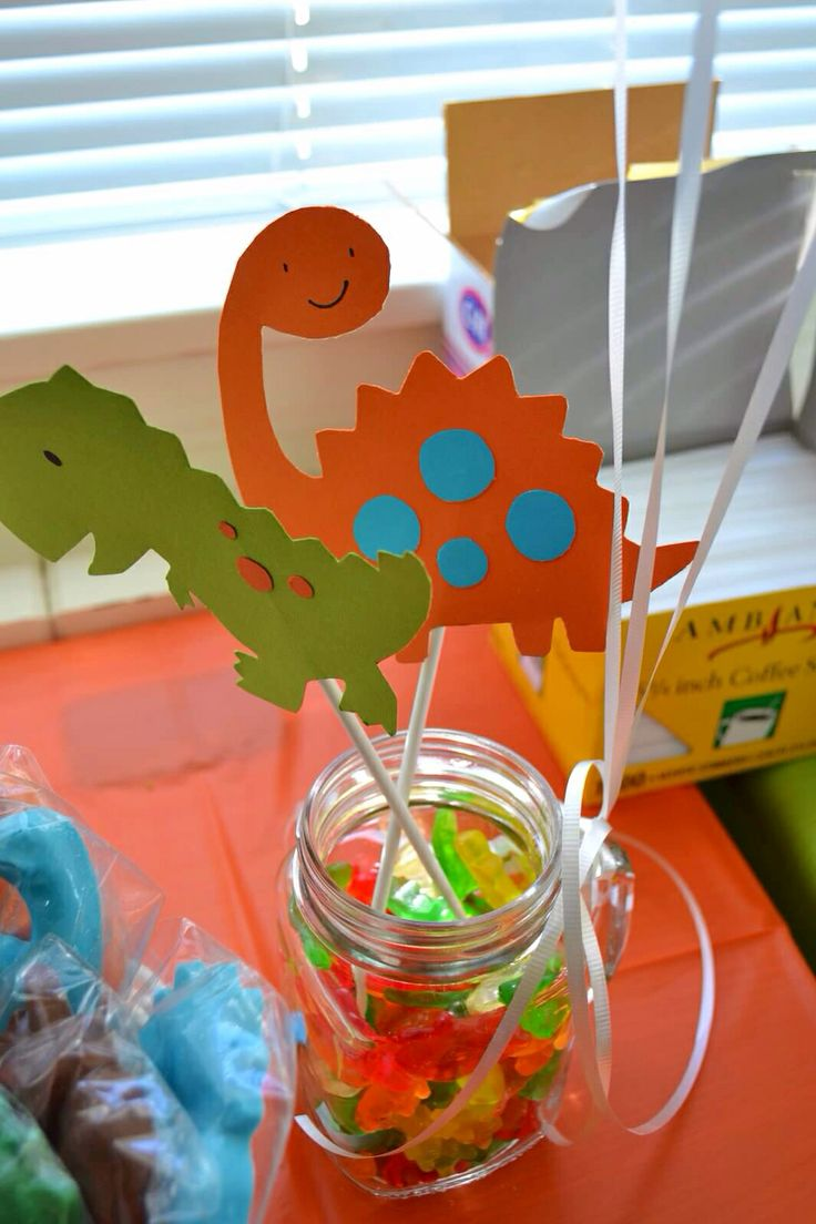 76 Best Party Ideas Dino Birthday Images On Pinterest