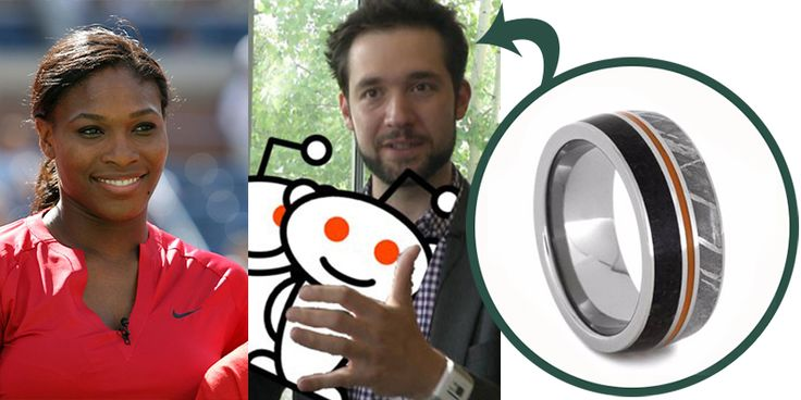 Our Celebrity Wedding Ring Suggestions: Alex Ohanian Wedding Band Suggestion