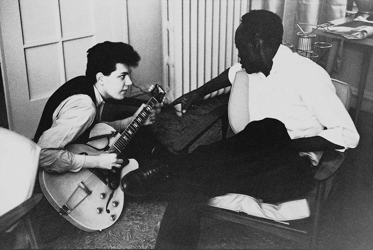 Mike Bloomfield with John Lee Hooker