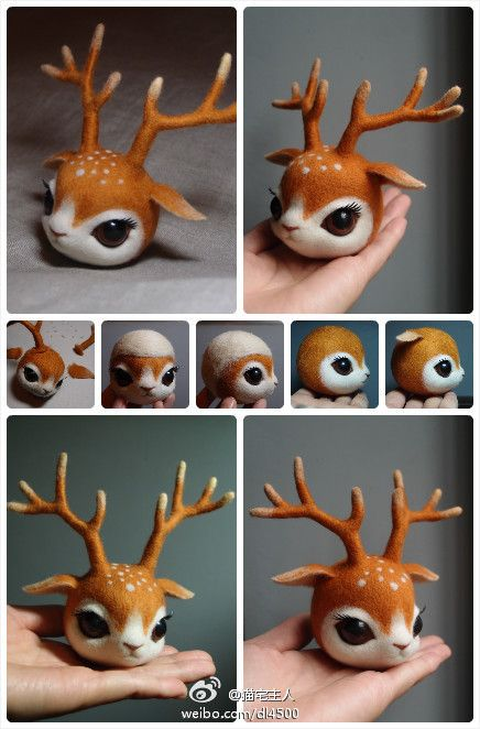 Ruby in progress - could make deer antlers with sticks and the head with clay