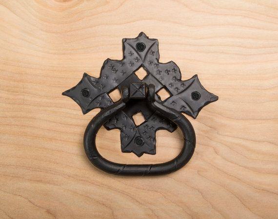 5.5 Iron Ring Pulls  Gate Pulls  Gate Handles  Barn Door