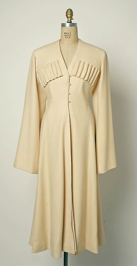 Coat, 1918, Russian, wool and silk