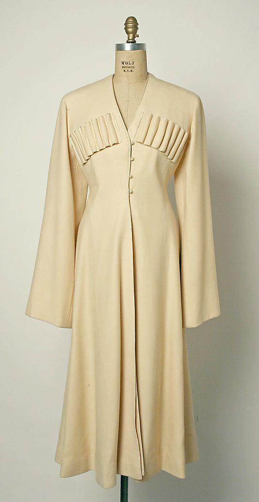 Coat, 1918, Russian, wool and silk