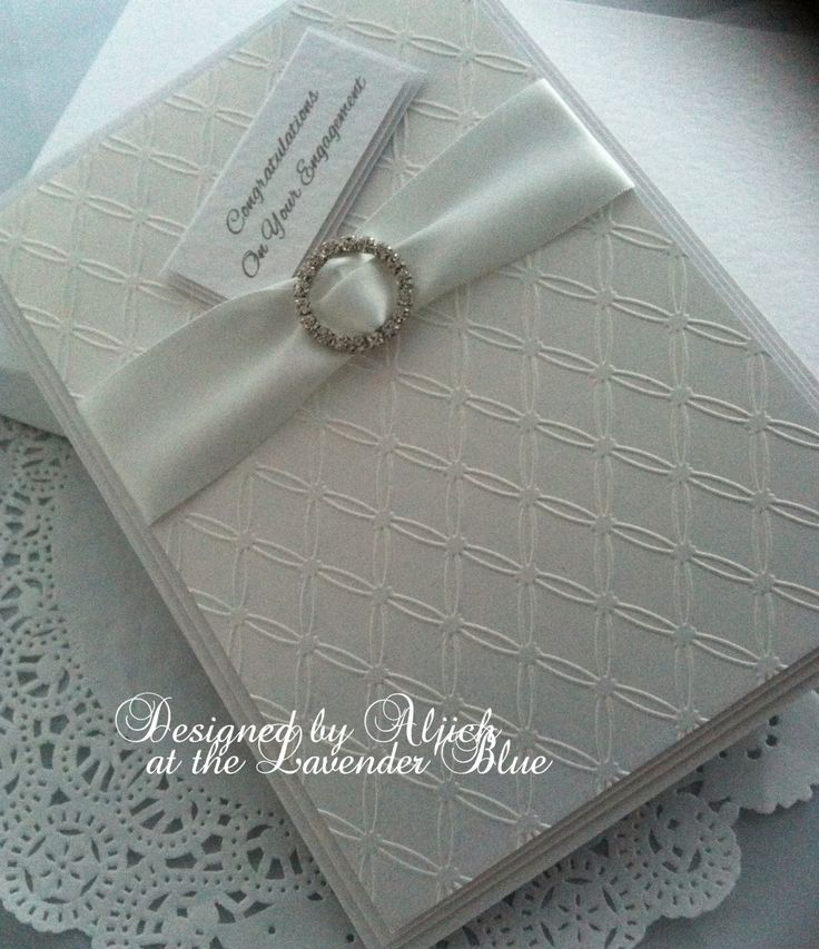 Engagement Card, You're Engaged, Wedding, Personalized, handmade by thelavenderblue on Etsy