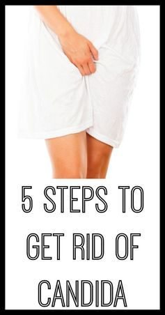 5 Steps to Get Rid of Candida //