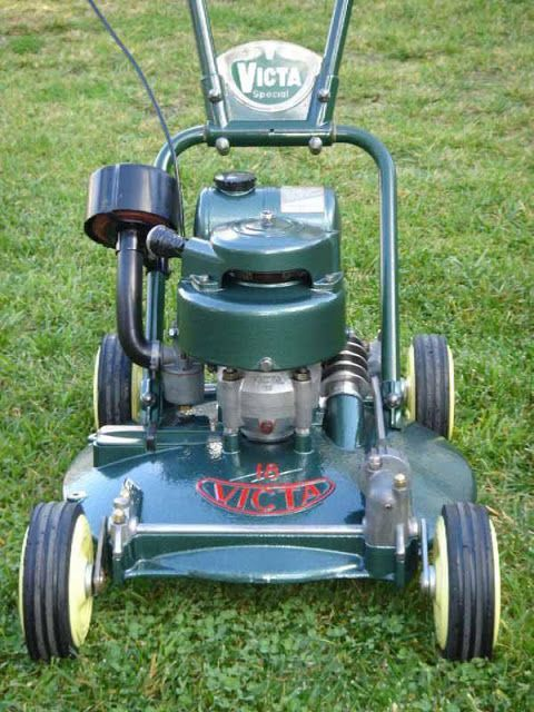 Just A Car Guy: Vintage lawn mowers