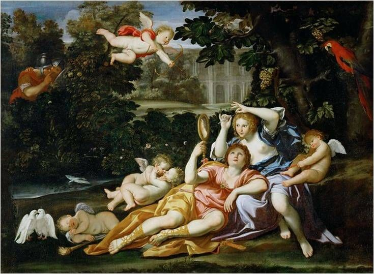 Rinaldo a Armida - Domenichino