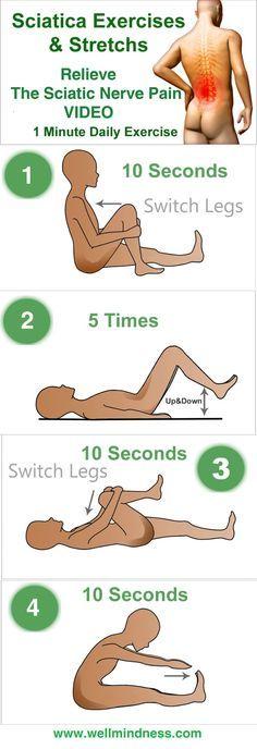 ejercicios para aliviar el dolor de la #ciatica. haraiberia.com