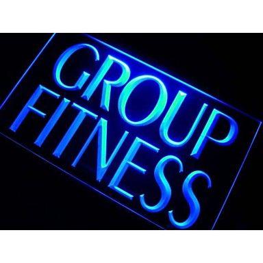 m110 groep fitness centrum neonlicht teken – EUR € 24.54