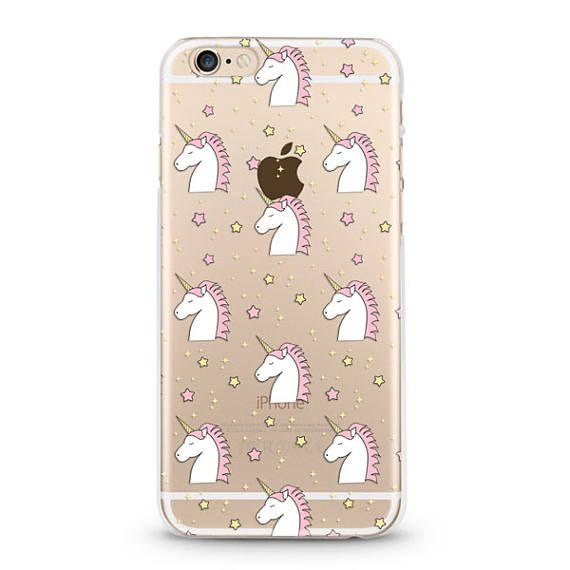 Unicorns iPhone 6 case, iphone 6s case transparent clear case