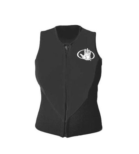 Body Glove 3mm Barrier Front Zip Vest, X-Large. Body Glove quality over 50 years in the water. 3mm nylon-2 throughout. Black/Blue color. Anatomically cut. Sleevless front zip provides warmth in the chest area. Flatlock seams. Variation Attributes: (X Large) Size. Front zipper. Date of release: 2010-11-16.