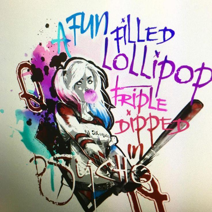 A fun filled lollipop triple dipped in psycho