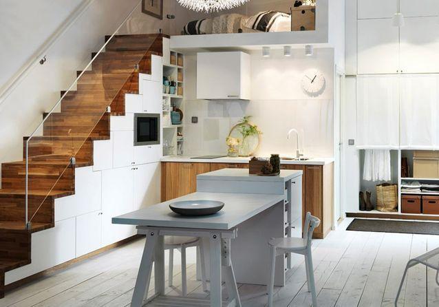 Petite cuisine  découvrez toutes nos inspirations - Elle Décoration
