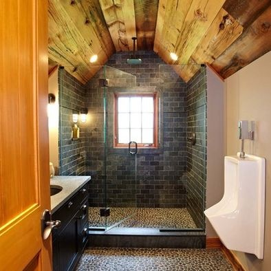 Bathroom Arched Rustic Shower Design, Pictures, Remodel, Decor and Ideas - page 2