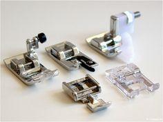 Nähfuss - Kunde W6 Nähmaschine Applikationsfuß Abkettel Overlockfuß Reißverschlußfuß Blindstichfuß Standard-Zickzackfuß 2