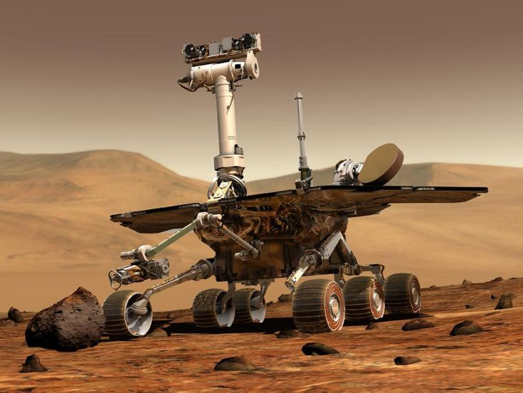 Although it eventually got stuck and stopped transmitting, the Spirit rover found evidence of water in Mars' past and paved the way for the more robust Curiosity.