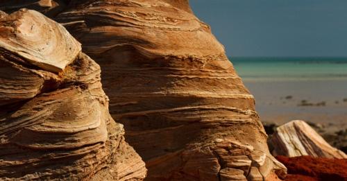 Sandstone Formations, Crab Creek, Broome, WA, Australia