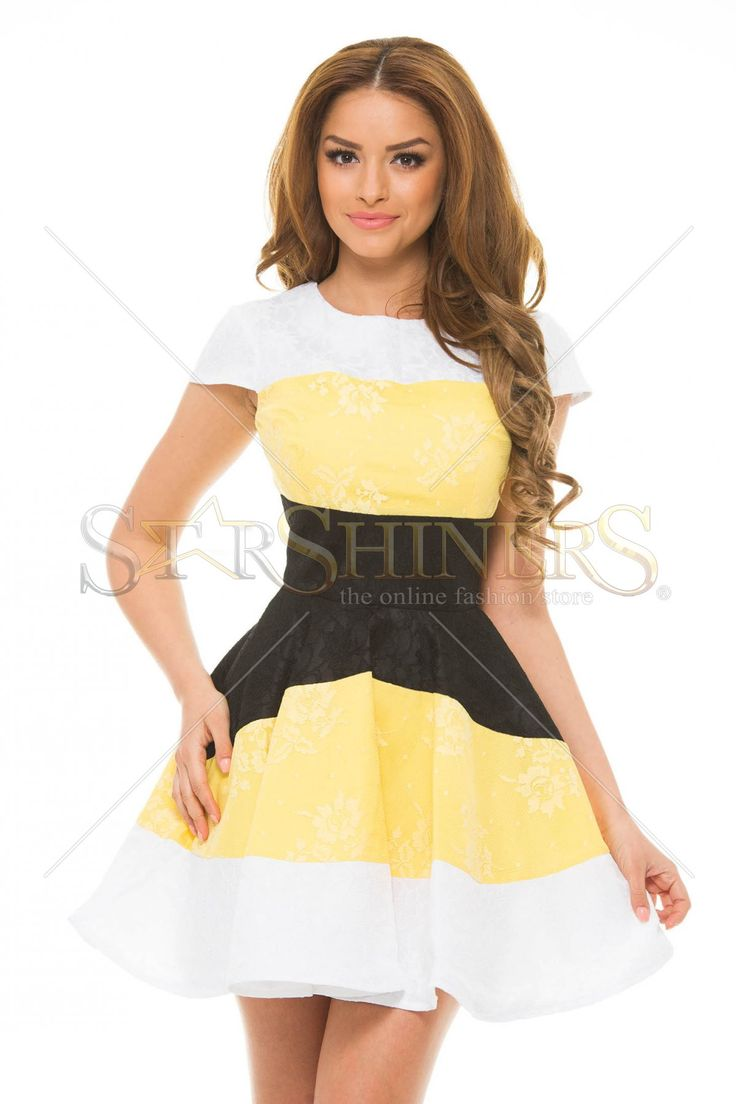Artista Faithful Touch Yellow Dress