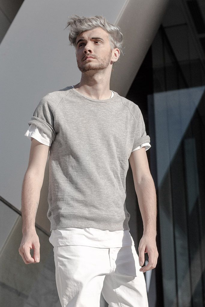 The Fashion jumnper in All-White , fashion editorial