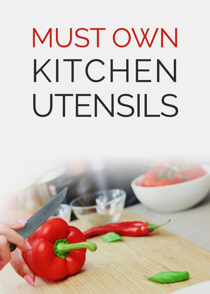 1000 ideas about kitchen utensils list on pinterest for Kitchen utensils list