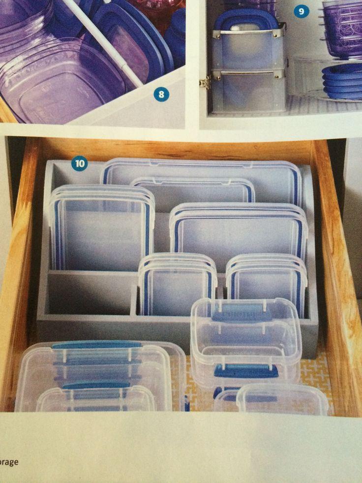 Best 25 Tupperware Storage Ideas On Pinterest