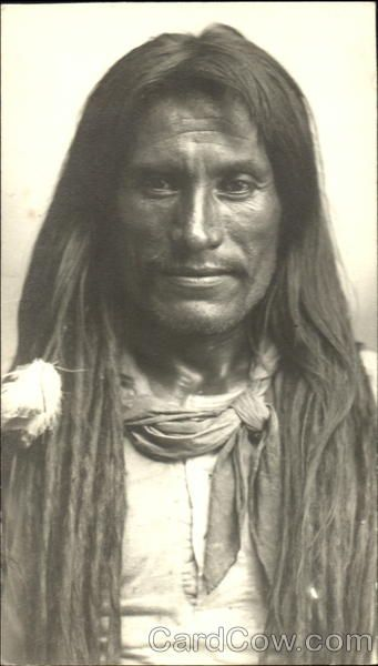 Rare photograph of Cocopah Indian named Mosquito Billy