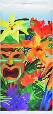 TIKI TROPIC LUAU PARTY HAWAII ISLAND PARTY PLASTIC TABLECLOTH TABLE COVER!