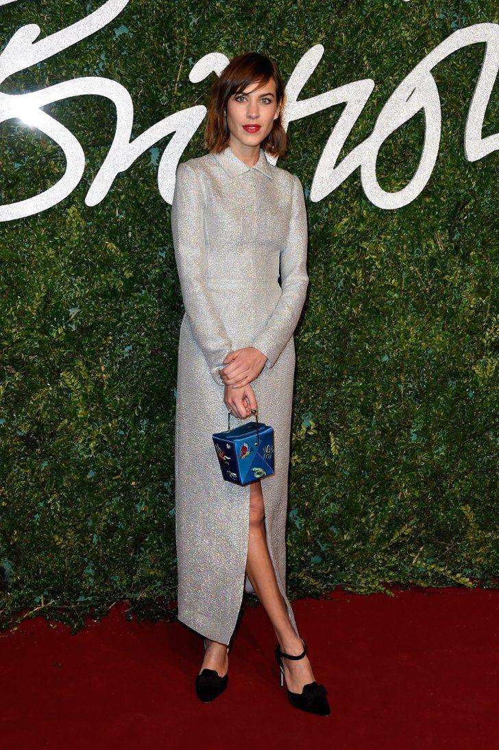 Pin for Later: Die British Fashion Awards halten was sie versprechen Alexa Chung in Emilia Wickstead