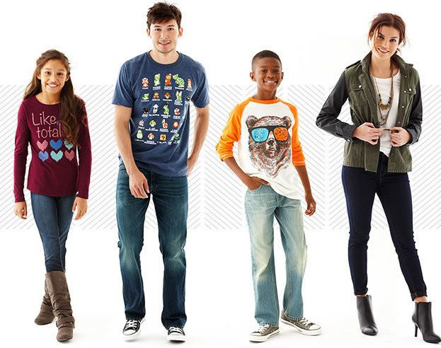 Get 30 - 50% off denim clothes at jcpenney online store with jcpenney coupons and even you can get extra 25% off if you have jcpenney credit card or 20% extra with any other payments. You can shop denim for women's jeans, men's jeans, juniors jeans, guy's jeans, girl's jeans, boy's jeans.