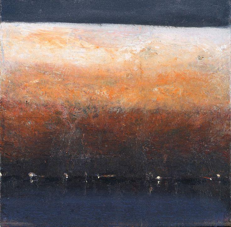 Ørnulf Opdahl: Solefall, 2015, 50 x 50 cm