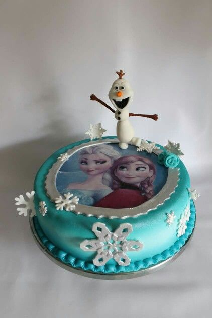 Torta Frozen 100 % Comestible.