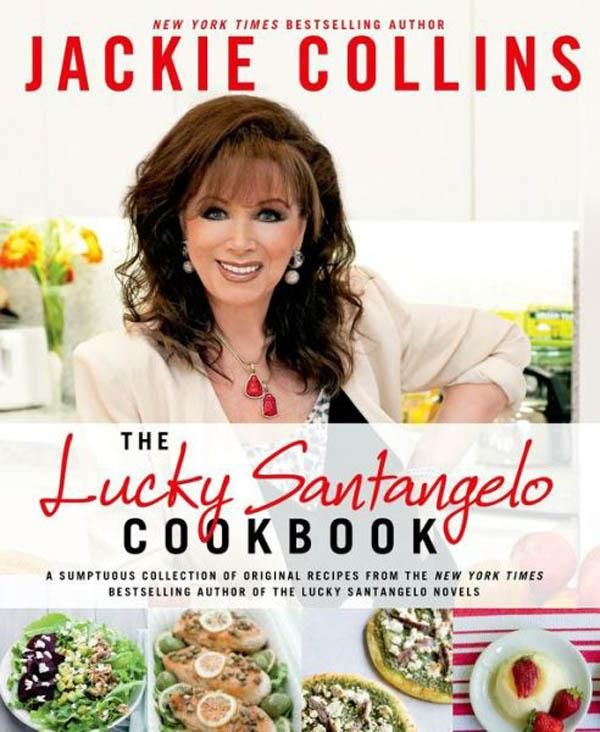 Enter for a chance to win a signed copy of Jackie Collins Cookbook!